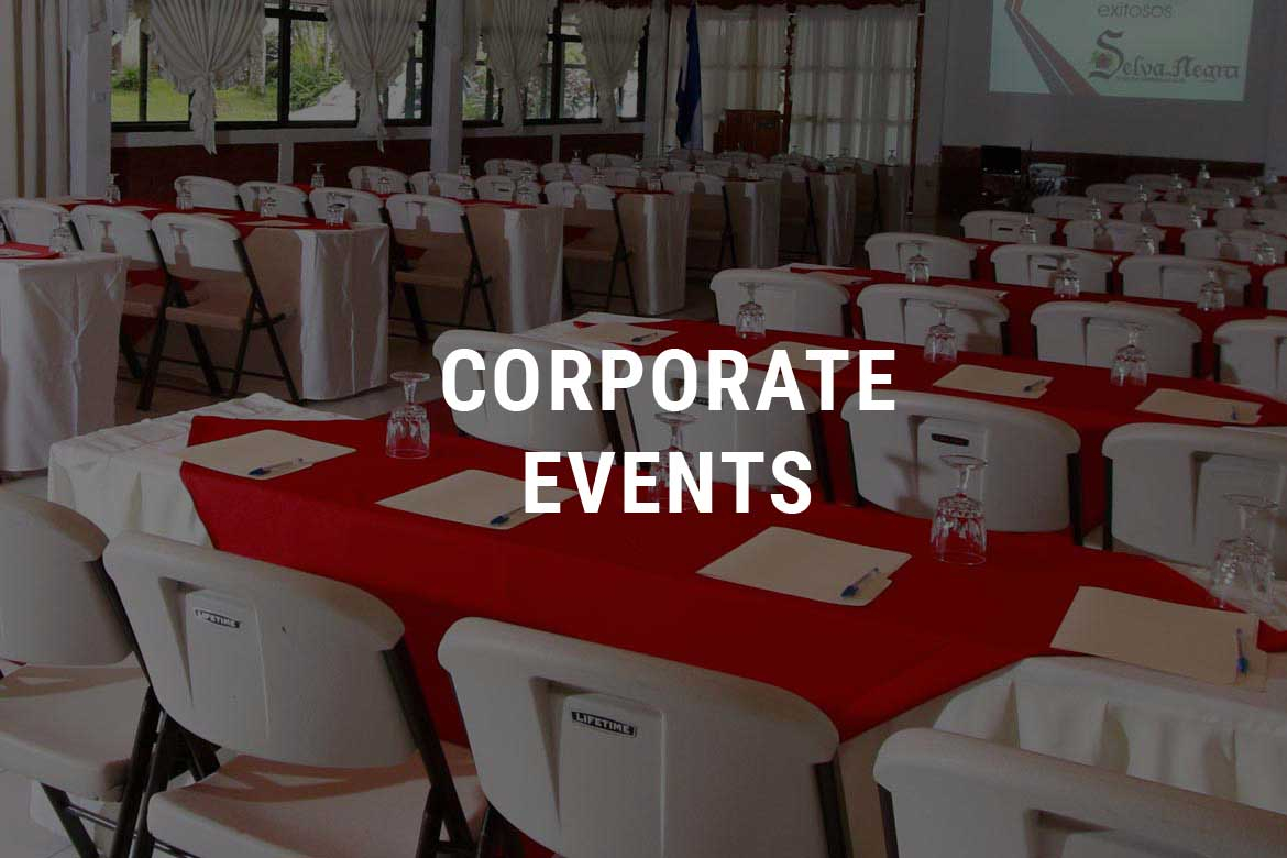 Corporate Events Selva Negra Ecolodge