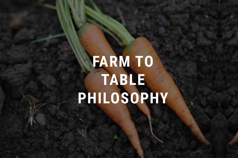Farm to Table Philosophy Selva Negra Ecolodge