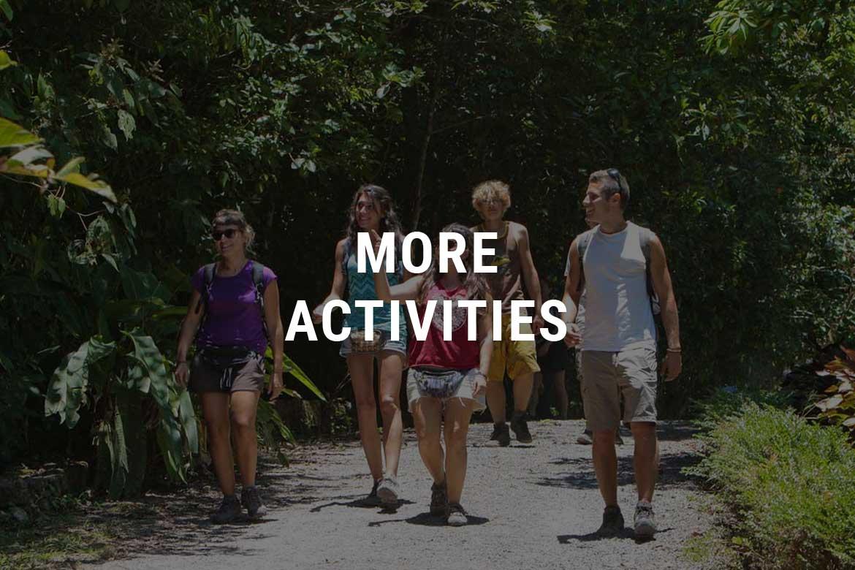More activities Selva Negra Ecolodge